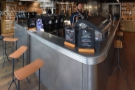 However, there's more. You can also sit at the front of the counter by the window, where...