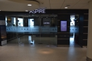 ... and there it is, the Aspire Lounge.