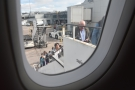 From my seat, I could watch everyone else boarding the plane.