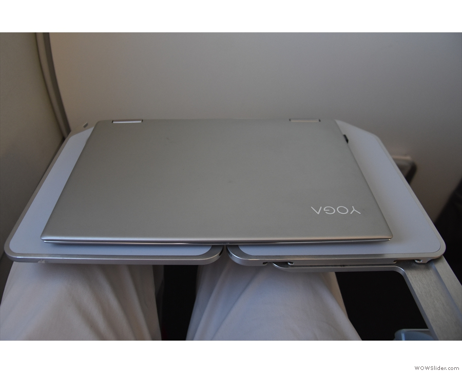 ... and it's just the right size for my laptop.