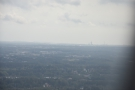 I'm assuming that's the city centre in the distance.If so, we're approaching from the east.