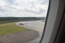 And there's the airport!