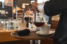 The final nice touch is that the syphon is brought to your table to be served.