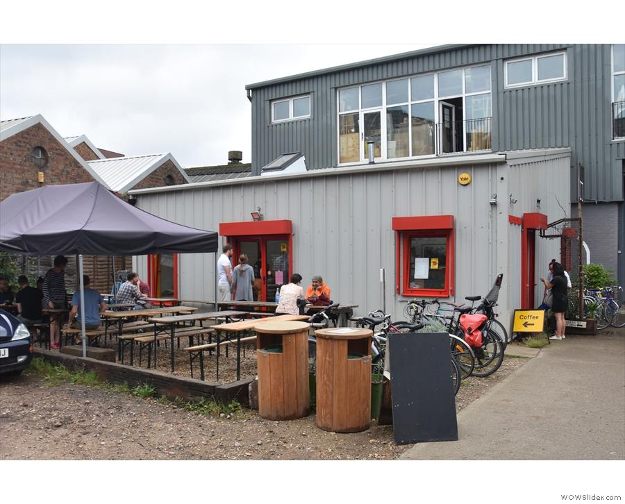 Wood St Coffee, in the Blackhorse Workshop, Walthamstow.