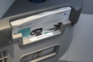 There's also a magazine rack and bottle holder forward of the seat casing.