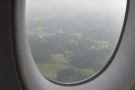 This is the countryside around Narita as we came in on our final approach.