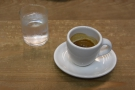 When I returned yesterday , I tried the Hayes Valley espresso blend...