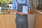 I'll leave you with Yoshi, my barista last year, who bought a copy of my book!
