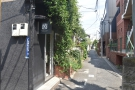 The view past Maruyama, further along the alley to where we started the gallery.