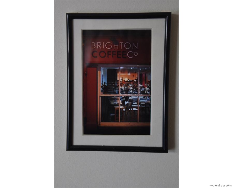 Brighton Coffee Co, a previous inhabitant of 35 Kensington Gardens.