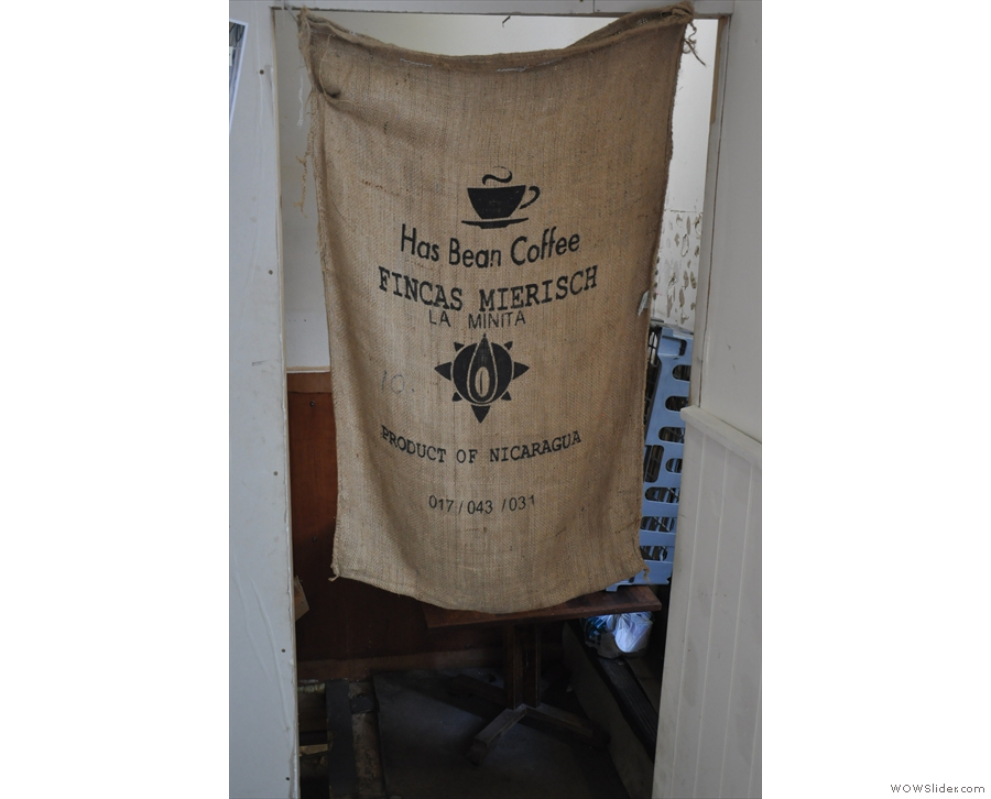 Nest also makes good use of old coffee sacks.