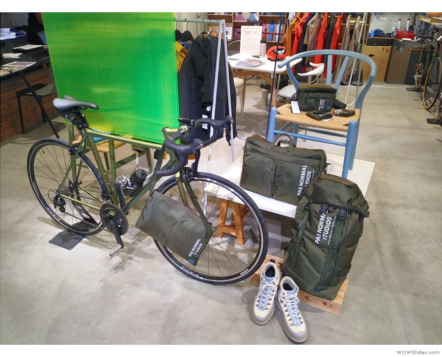 This week, however, it's the turn of cycling apparel retailer, Pas Normal Studios...