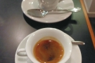 I was there last week, trying the espresso and cappuccino set...