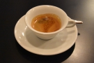 The second shot comes in the same wide-brimmed cup that was used by Miki Suzuk.