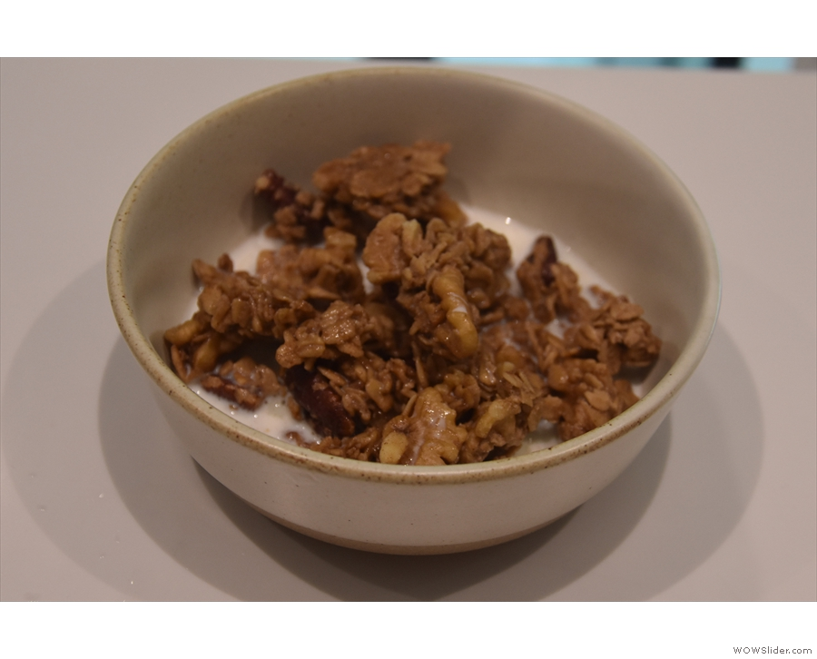 And very tasty granola it was too.