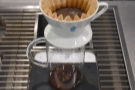 ... in the coffee to escape, resulting in a more even extraction.