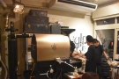 When I returned last weekend, the roaster was in action, which was nice to see.