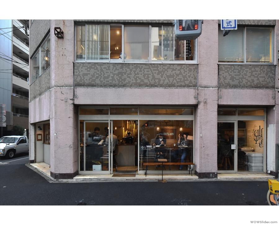Glitch Coffee & Roasters in Jimbōchō, Tokyo.