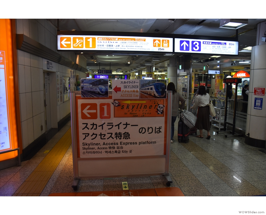 Every station I've been to in Japan have excellent, clear signposts in English & Japanese.