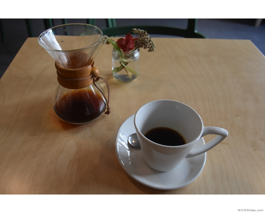 ... a single-origin from Guatemala, roasted by Square Mile, which is where I'll leave you.