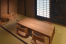 There's one final room, right at the back, which also has a four- and a two-person table.