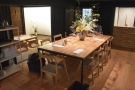 The communal table in the middle joins all the rooms together...