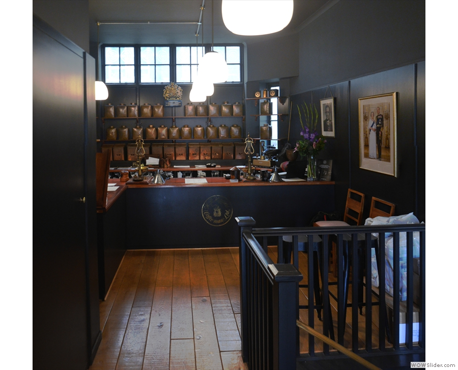 ... while beyond that is the tea and coffee counter, which will feature in its own post.