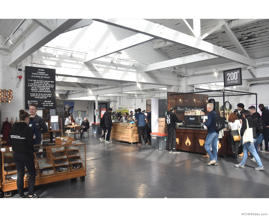 June & I was back, briefly, in the UK, just long enough for the Birmingham Coffee Festival.