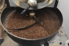 ... 12kg Probat, which was roasting a single-origin Papua New Guinea while I was there.