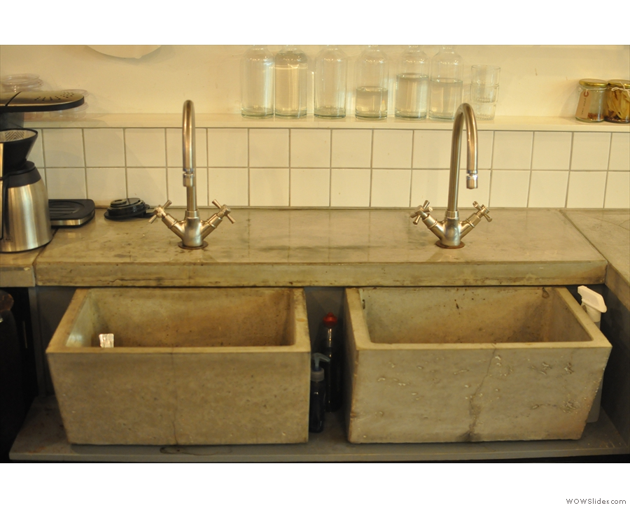 I liked the sinks too.