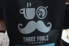 Finally, before leaving, I picked up a bag of Three Fools' Colombian decaf.