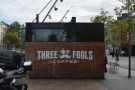 ... home to Three Fools Coffee (the sign rather gives the game away).