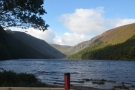 ... before going hiking the following day at Glendalough. This looks serene, but it was...