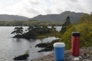 We carried on around Muckross Lake, where...