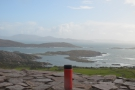 ... south over Abbey Island to Lambs Head, with the Bere Peninsular in the distance.