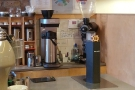... with the filter station, compete with Marco Beverage Systems SP9 at the far end.