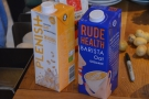 ... and non-dairy. This is just a subset of the milks there were used (there were eight in all).