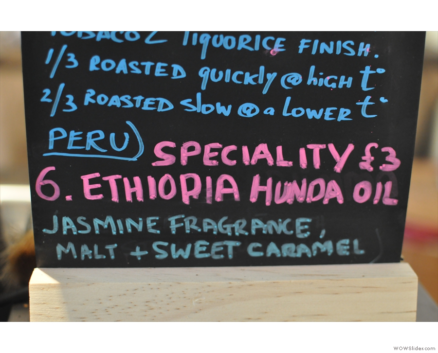 ... which was the Ethiopia Hunda Oil..