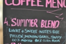 Ironically for December, it's the Summer Blend!