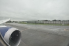 ... and then taxiing alongside a runway...