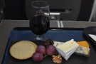 I rounded things off with cheese and biscuits, plus a glass of port...