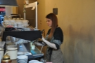 Warning! Barista in action: disturb at your peril!