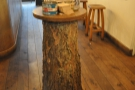 No 193 is full of neat little feaures such as this tree-stump table.