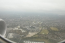 ... and then flew just north of Twickenham stadium...