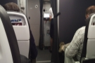 And so to my flight and seat 3C in Club Europe, very near the front.