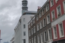 On Cleveland Street in Fitzrovia, under the shadow of the BT Tower, stands Kafi...