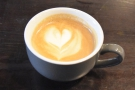 I started with a flat white, made with Union Hand-roasted's Bright Note blend.