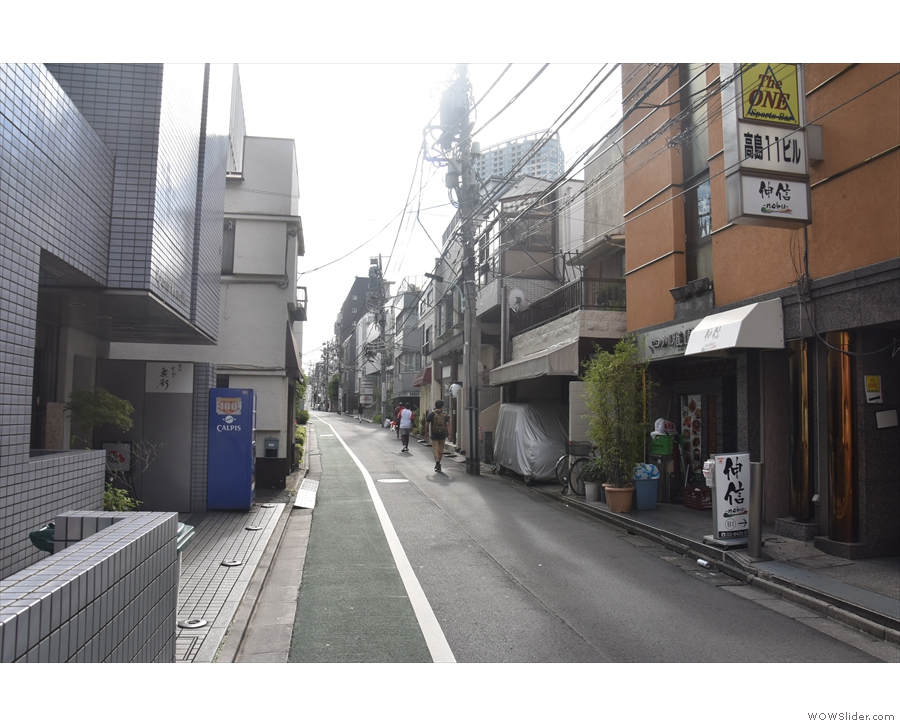 A quiet backstreet in Asakaka: not somewhere you'd expect to find a top-notch...