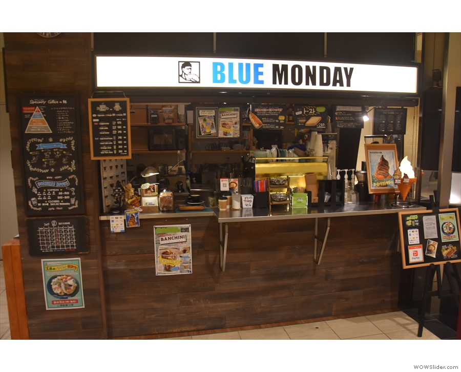 Back to the front of Blue Monday. For somewhere so small, it does a surprising amount.