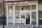 Breather Coffee, on the main north-south road through Zushi, in Kanagawa prefecture.